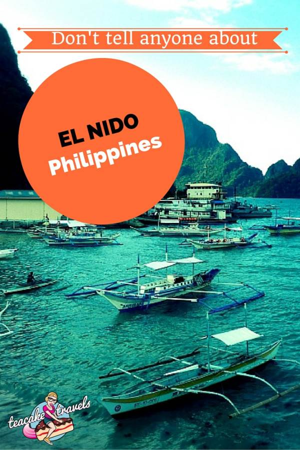Don't tell anyone about El Nido Palawan Philippines