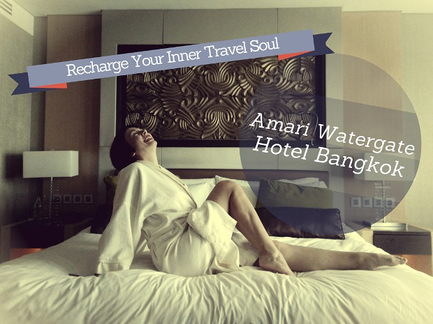 Need a break from the chaos of Bangkok in Thailand? Recharge your travel soul at the Amari Watergate Bangkok Hotel and you'll leave refreshed top to toe! www.teacaketravels.com