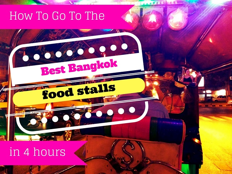 Looking for the Best Bangkok Food Stalls? You're in luck! There is a Nighttime Bangkok Tuk Tuk Food Tour which will whizz you around the city with a local guide, showing you the best and most delicious secret hidden street eats!