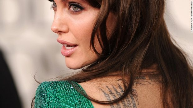 Angelina Jolie Sak Yant Tattoo