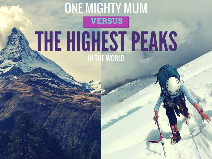 Masha Gordon is on a mission to be the fastest woman to complete the Explorers' Grand Slam Challenge and conquer the highest peaks in the world in 2016!