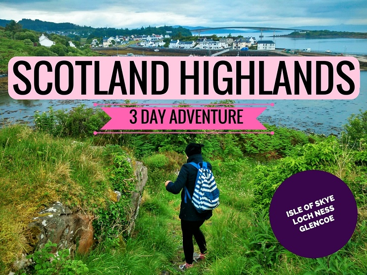 Taking a trip to the Scotland Highlands? Here's an awesome 3 day itinerary for you with Haggis Adventures!