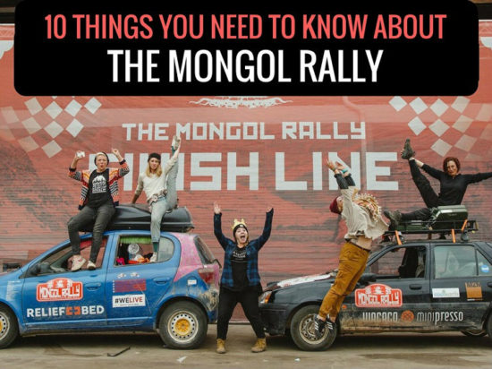 Adventurists Mongol Rally