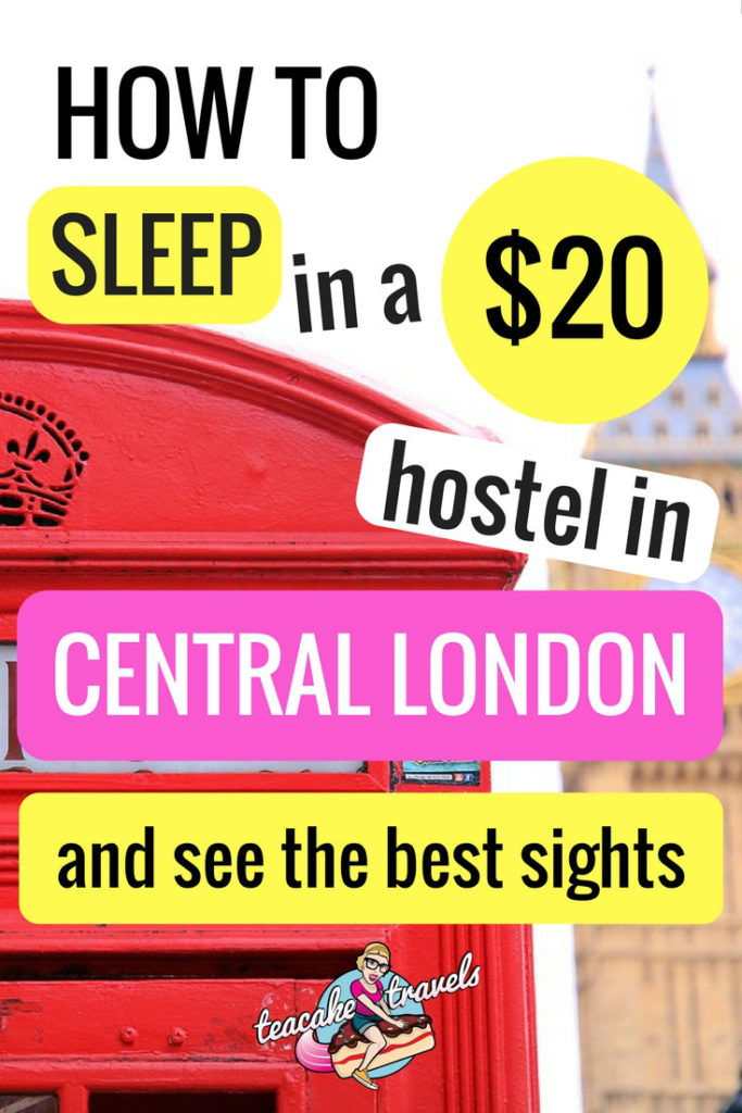 Hostel in Liverpool Street London