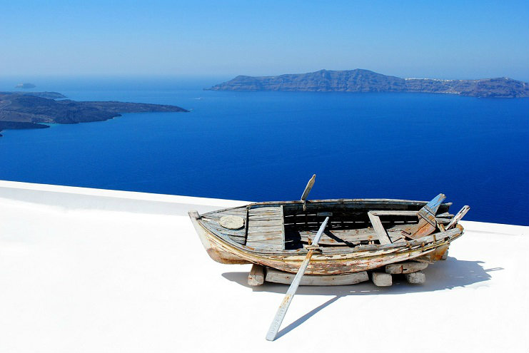 Ios Greek Island in the Cyclades Greece