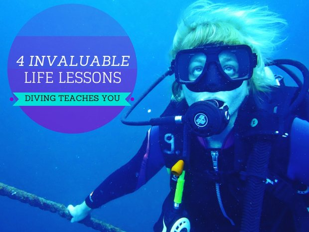 4 Invaluable Life Lessons Diving Teaches You