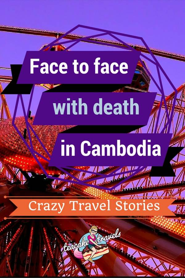 Face to face with death in Cambodia