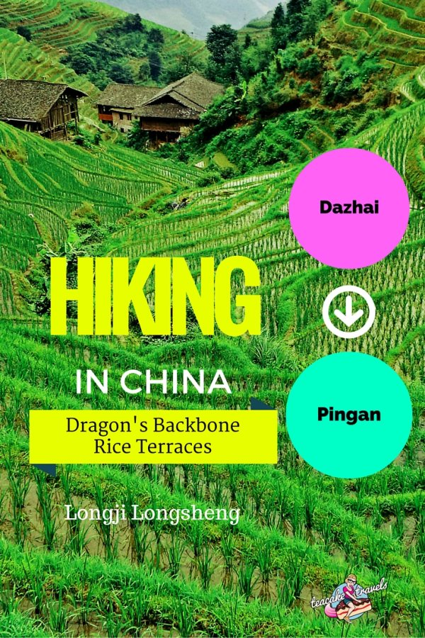 Hiking the Dragons Backbone Rice Terraces from Dazhai to Pingan in China