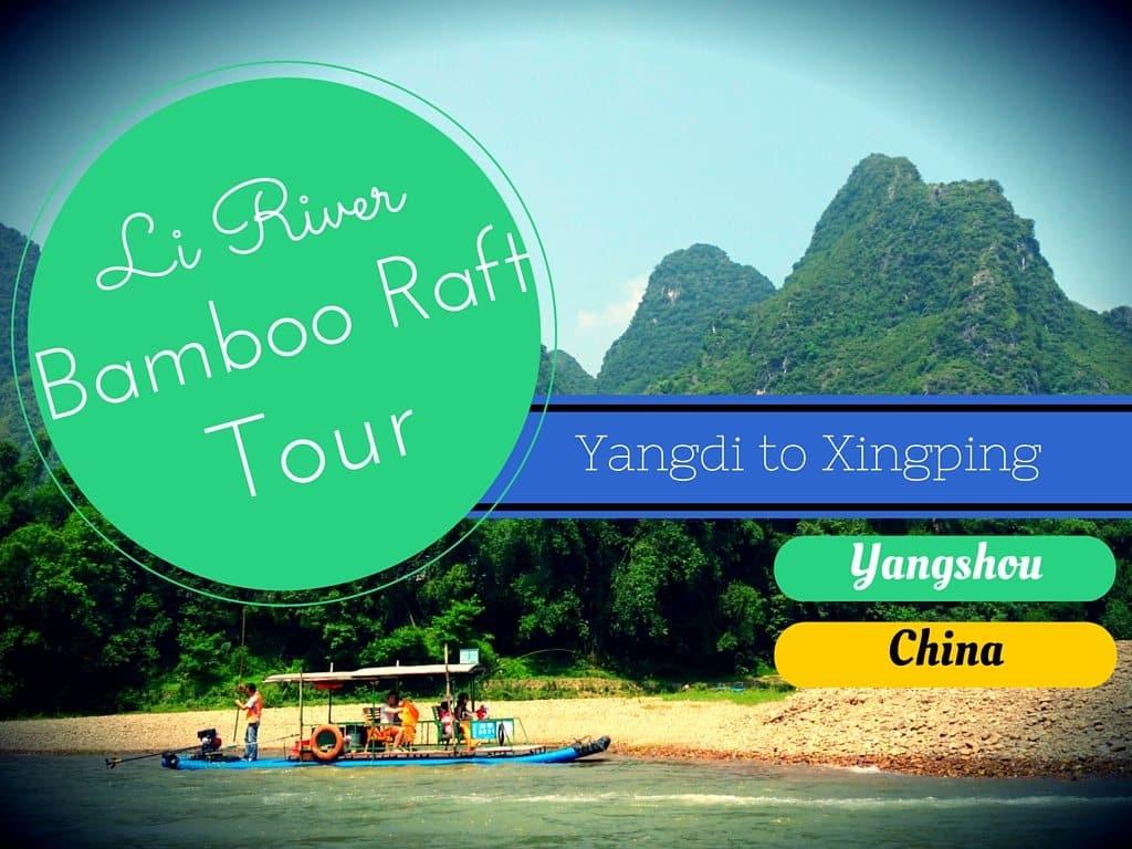 Li River Bamboo Raft Tour