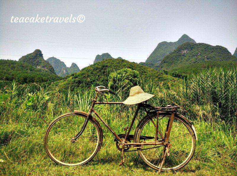 Cycling around Xingping