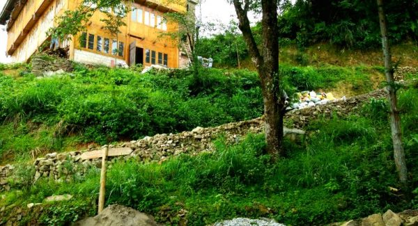 Hiking in Tiantouzhai