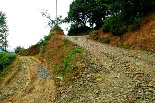 Hiking trail to Pingan