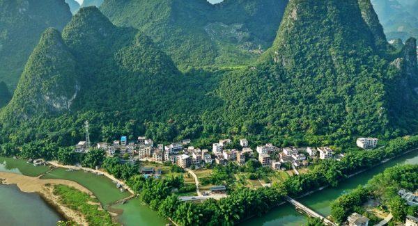 Laozhai Mountain Peak Xingping