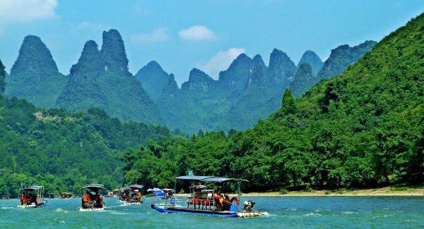 Li River Bamboo Raft Tour Xingping