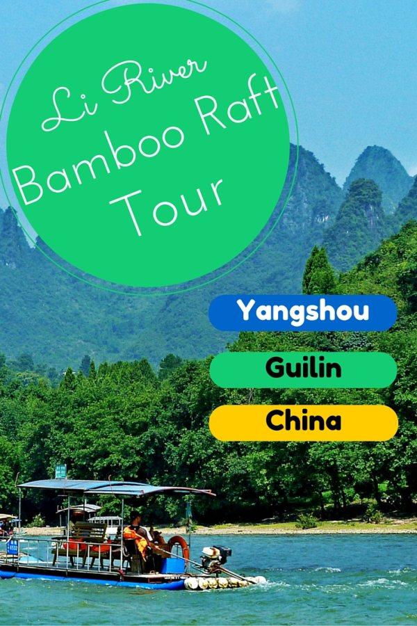 Li River Bamboo Raft Tour Yangshou Guilin China