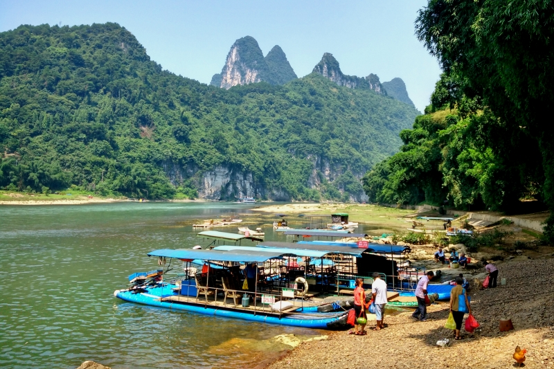 Li River Xingping Fishing Village