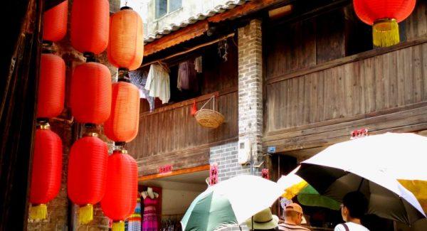 Shopping in Xingping