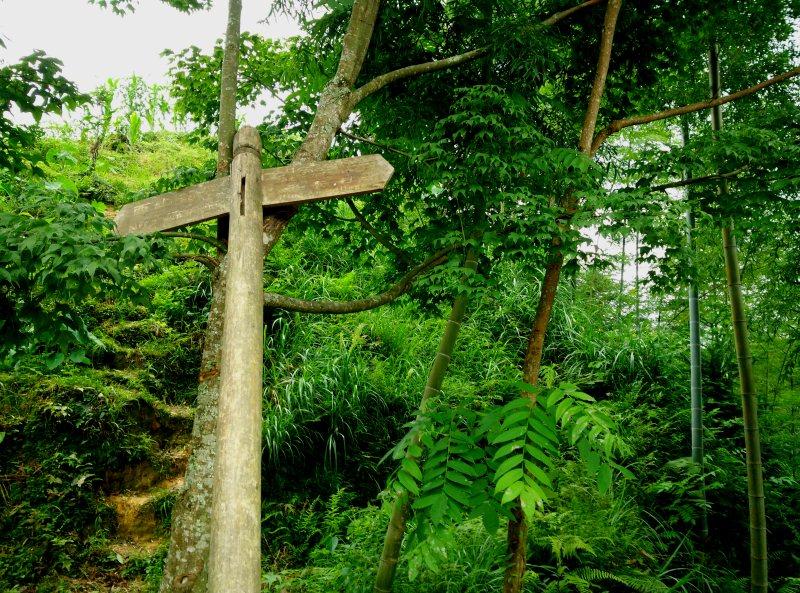 Signpost in Dazhai