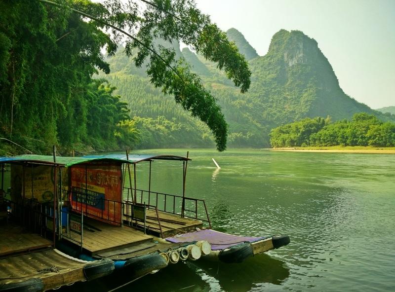 Xingping Bamboo Boats