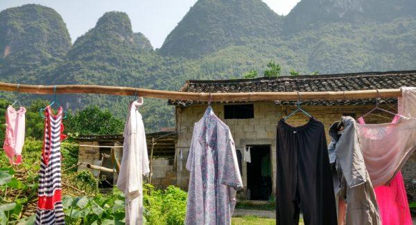 Xingping Fishing Village Laundry