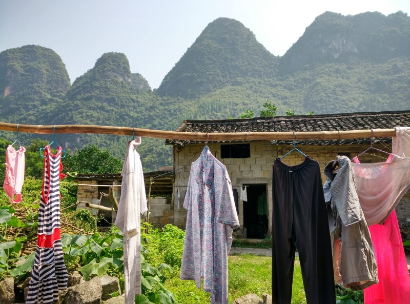 Xingping Fishing Village Laundry