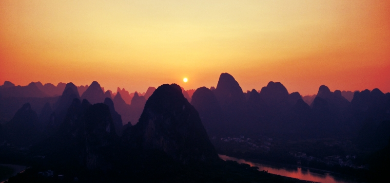 Xingping Sunset