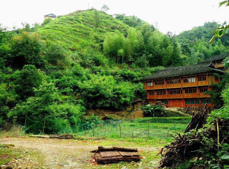 Zhong Lu Village Entrance