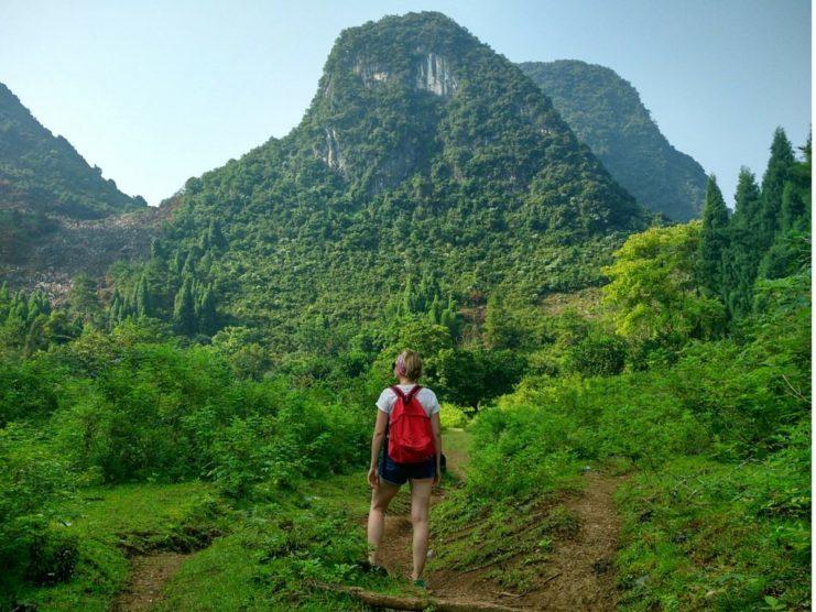 Hiking in Xingping China