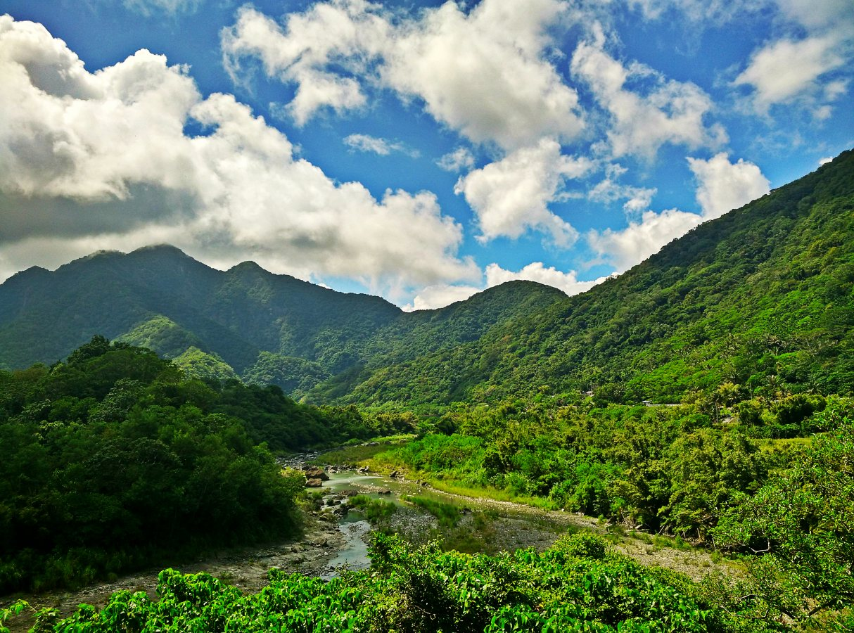 Mountains on Highway 23 Taiwan