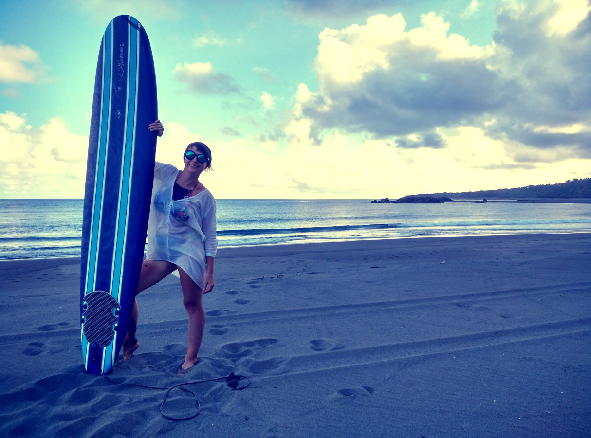 Surfing in Dulan Taiwan