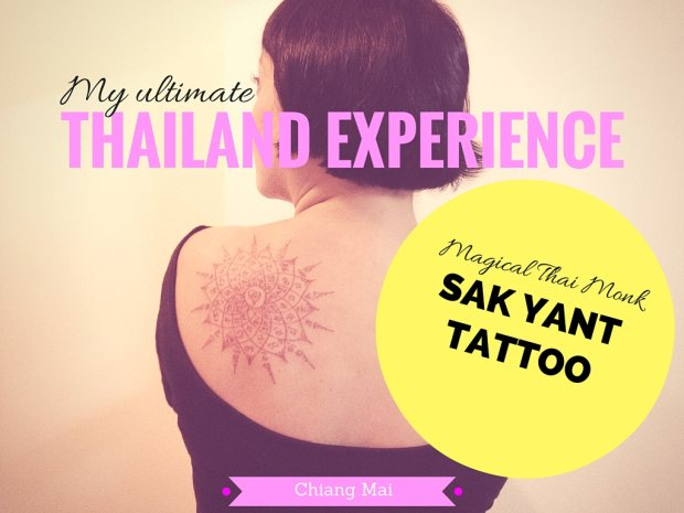 My Sak Yant Tattoo experience by a Thai Monk in Chiang Mai Thailand