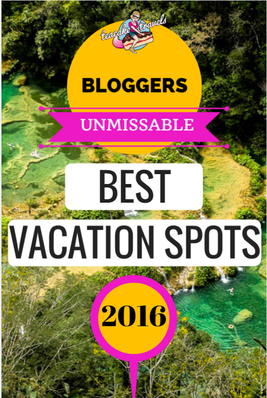 We're nearly half way through 2016 and there's so many best vacation spots in the world to still pick from! Hear from the travel experts and take your pick!