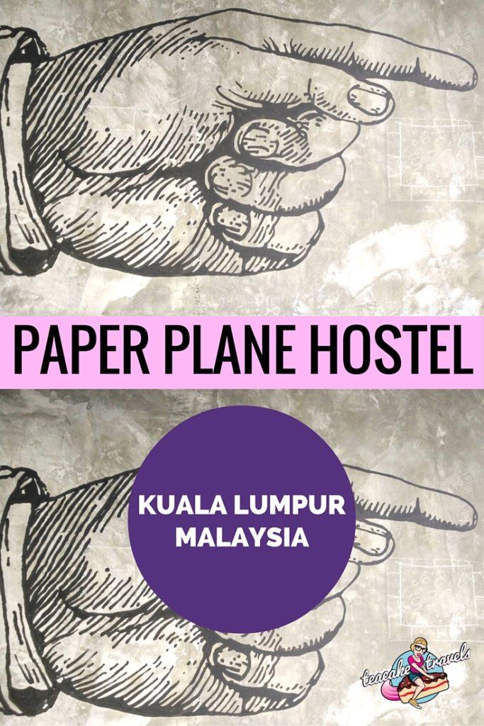 Paper Plane Kuala Lumpur Hostel