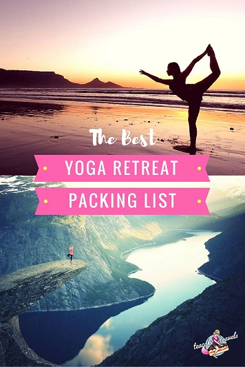 Yoga Retreat Packing List