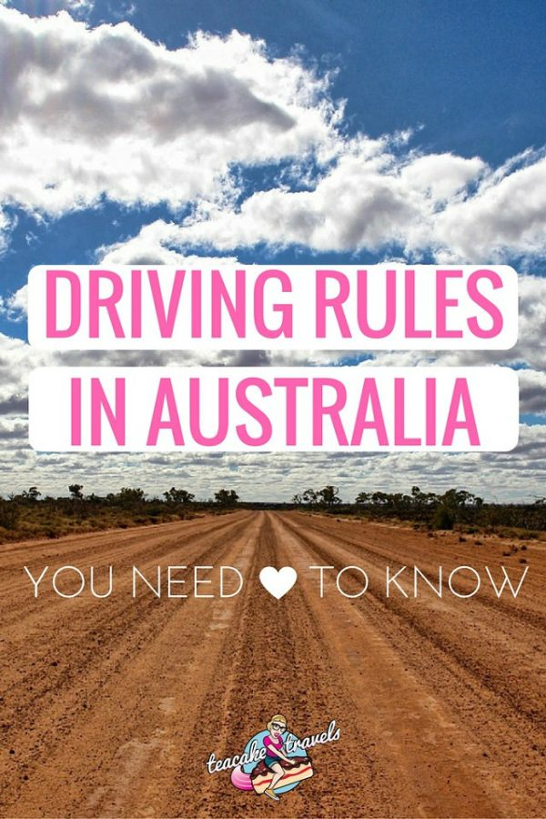 Driving Rules In Australia You Need To Know