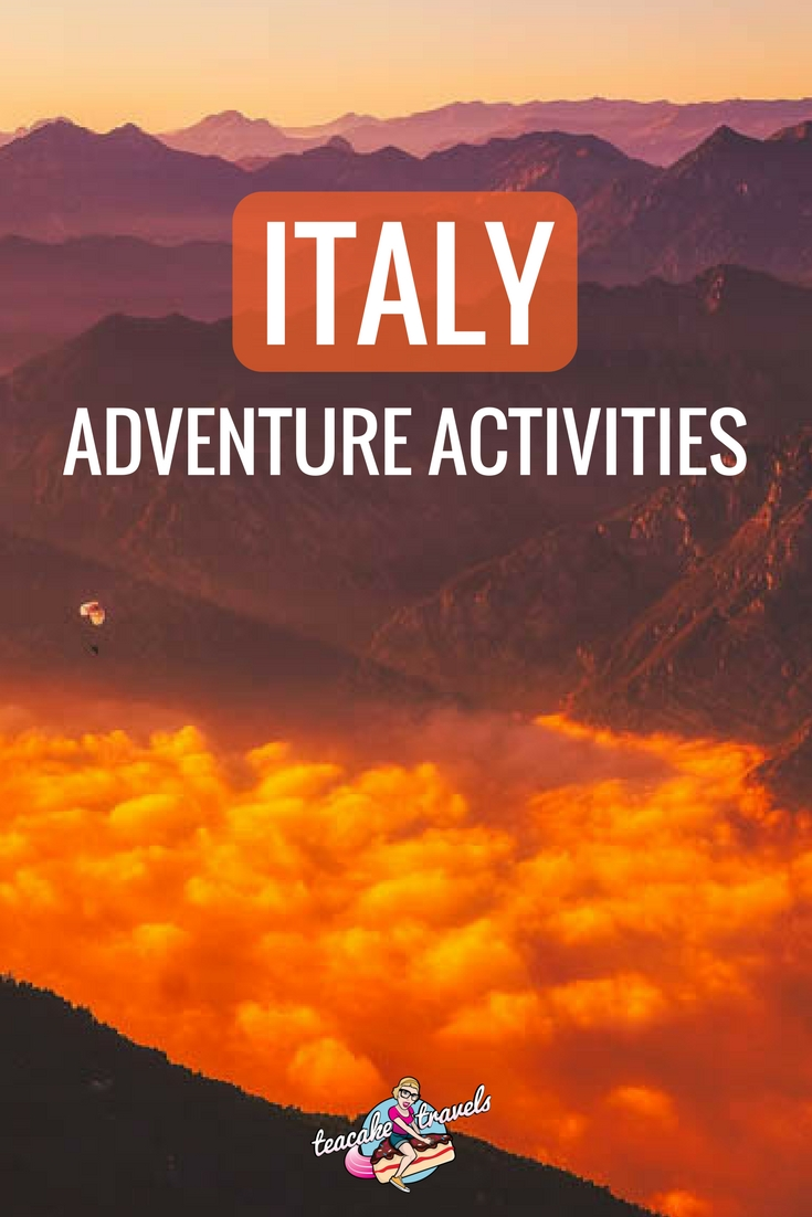 Adventurous Things To Do In Italy