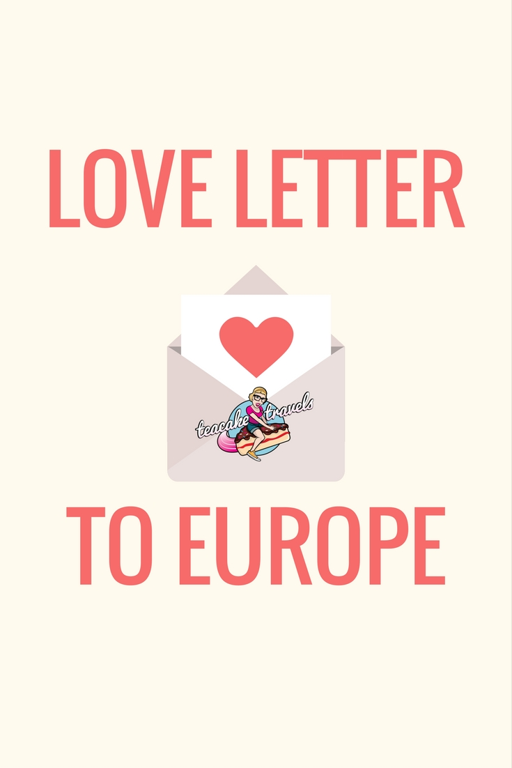 Send a love letter to Europe with Kayak Love Letters