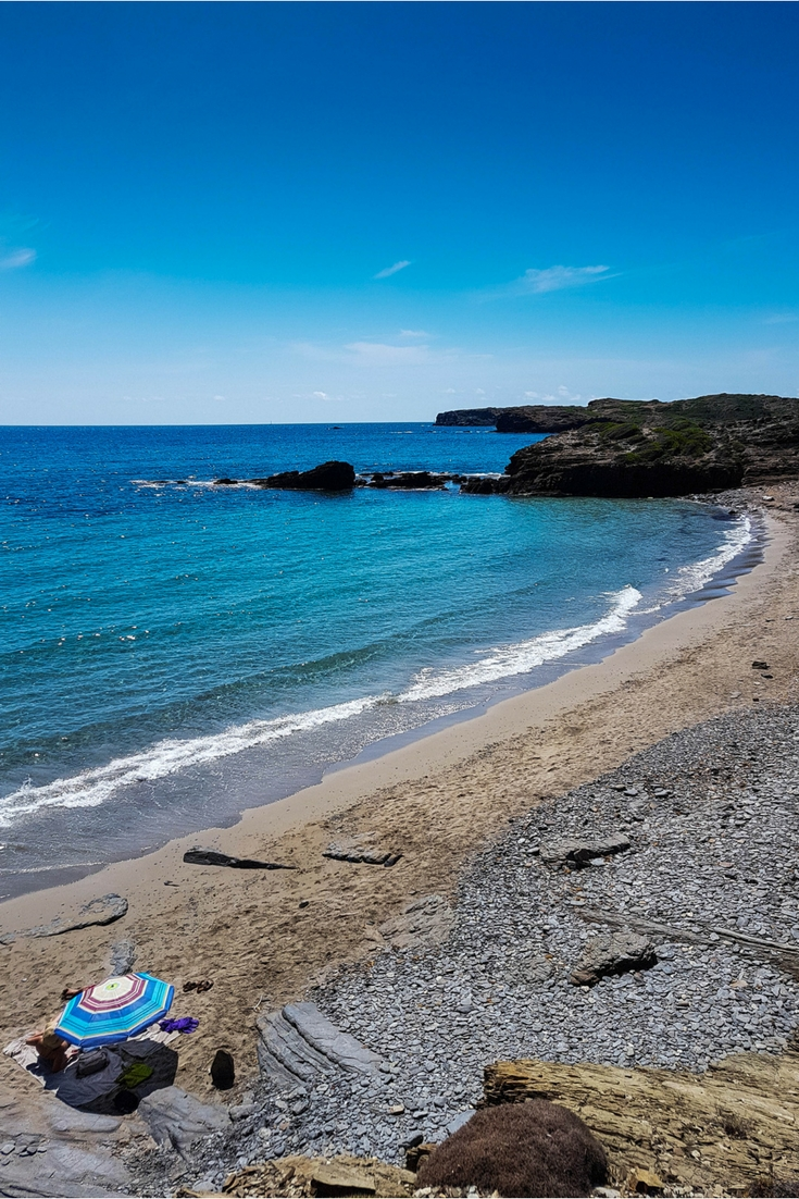 Stumbling upon the best beaches in Menorca, walking in Menorca Cami De Cavalls