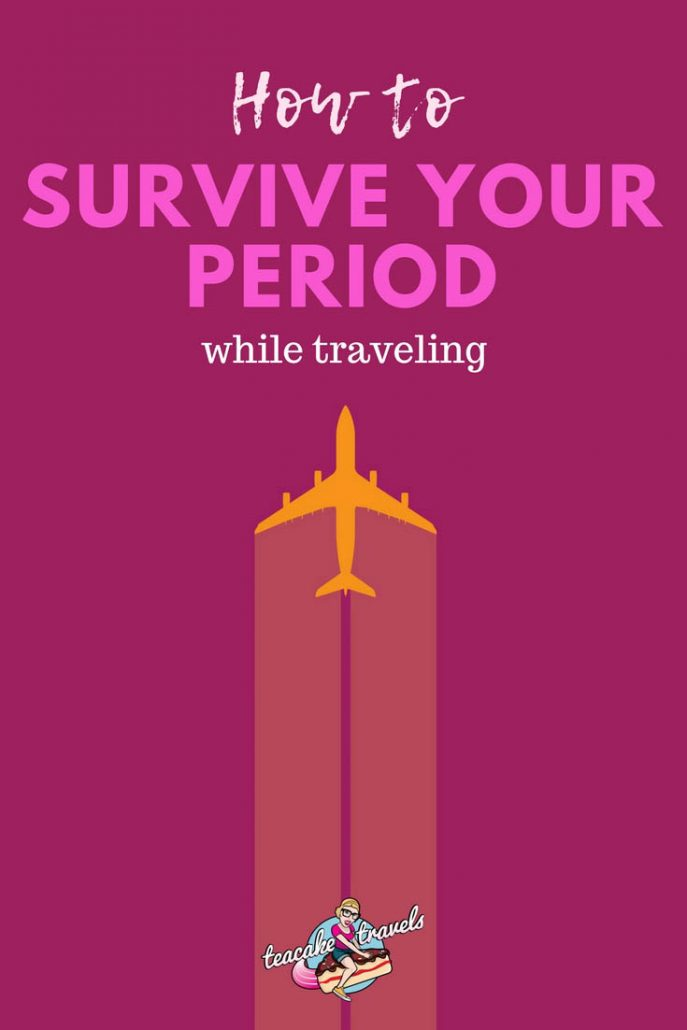 Here's how to survive your period while traveling on your period! You'll find tons of period tips and tricks here and some awesome menstrual products that are going to make you life a whole lot easier. Travel stress-free, be prepared and go be the adventurous woman you really are!