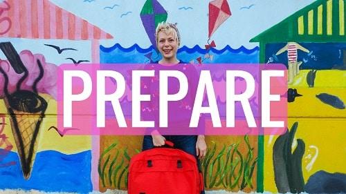 Prepare for solo female travel