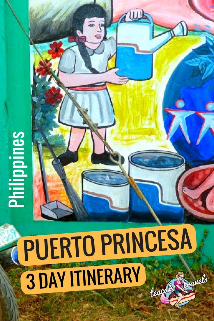 Puerto Princesa Itinerary