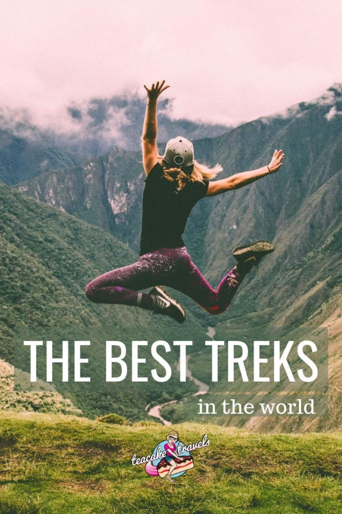 Are you an adventurer looking for the best treks in the world? Look no further! Here are the best treks in the world across all continents for you to try! #hiking #trekking #travelinspiration #hikingtips