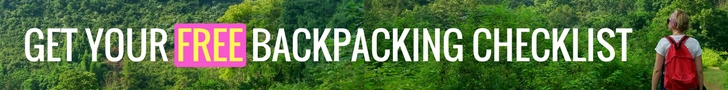 Backpacking Gear List Signup