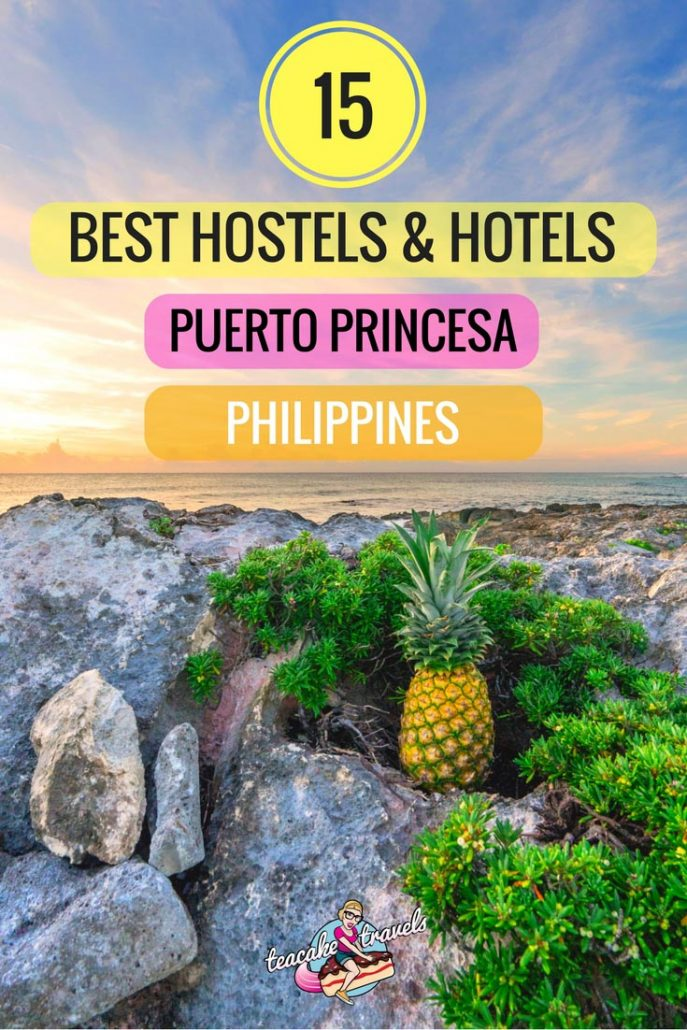 Looking for the best hostels and hotels in Puerto Princesa Palawan? The 15 best are here covering budget, midrange and luxury so you can choose what's best for you on your Palawan island getaway! #travel #philippines #palawan #puertoprincesa