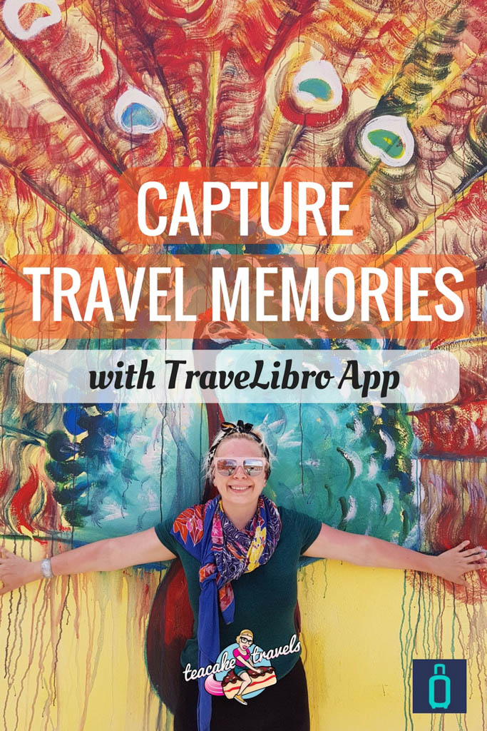 Capture travel memories with the Travelibro app