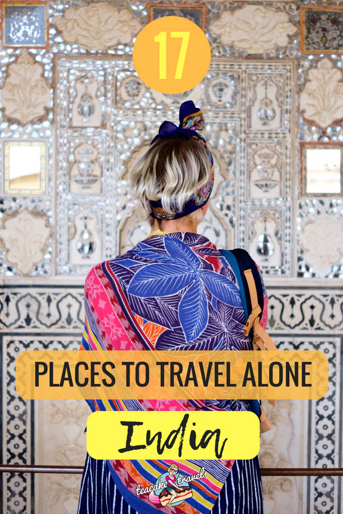 Wondering what the best places to travel in India alone are? Here are 17 awesome solo travel India destinations, especially if you are a woman! Discover the offbeat adventure side of India with top travel blogger India travel advice #travel #india #solofemaletravel #travelindiatips