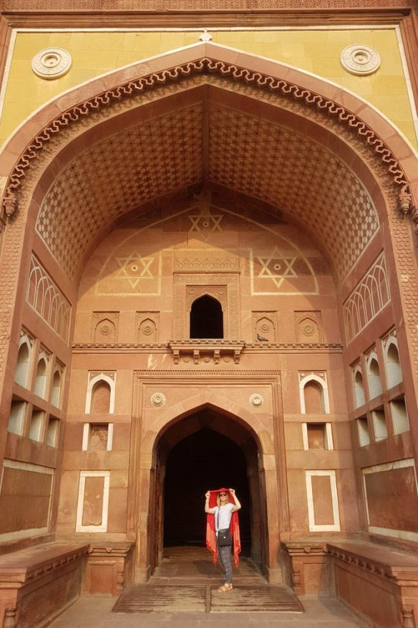 Agra Fort Golden Triangle India