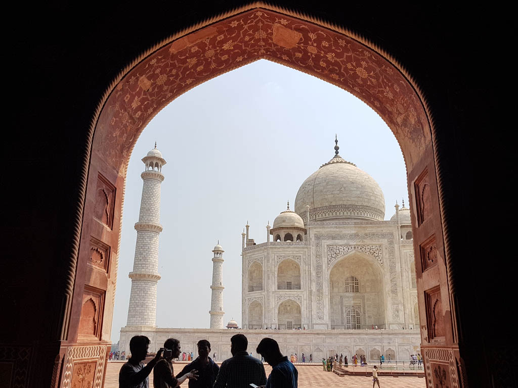 Taj Mahal Hands on Journeys Agra Golden Triangle Tour