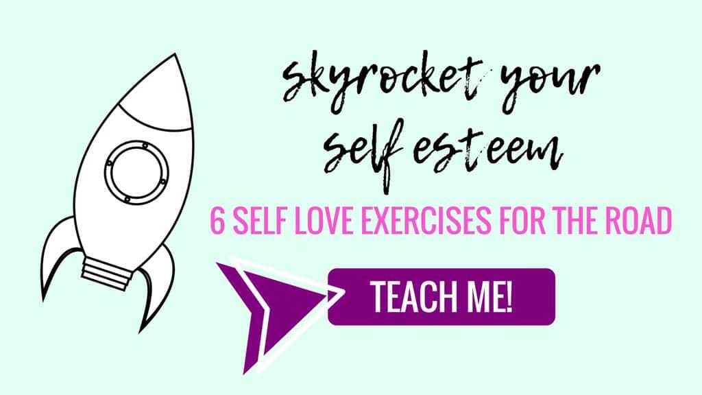 Self Love Exercises for Self Esteem