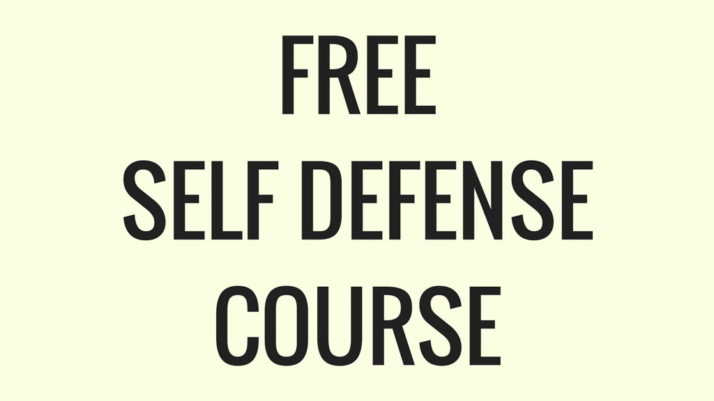 Free Self Defense Course